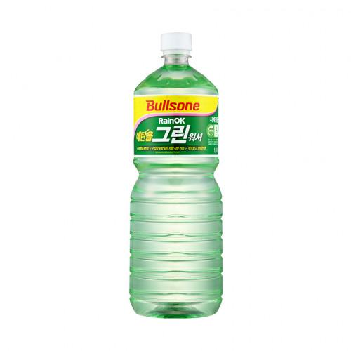 [불스원 베스트] 레인OK 에탄올 그린 워셔액 1800ml