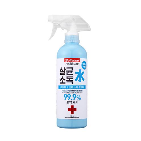 [불스원][30%할인] 살균 소독 탈취제 살균소독수 호클러 500ml