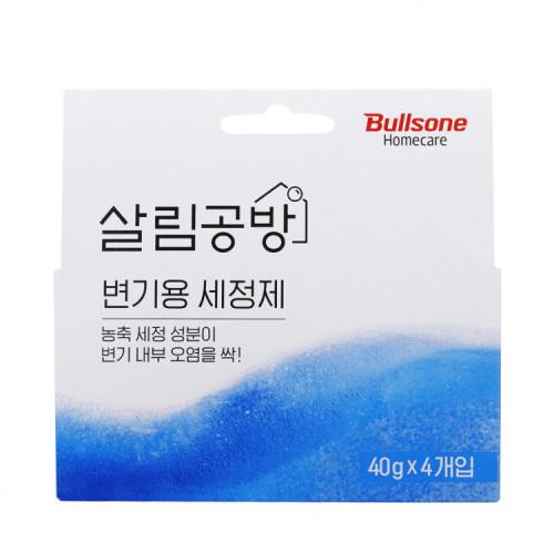 [살림공방] 변기용 세정제 40g x 4개입