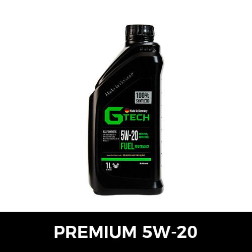 [불스원][G-Tech] 지테크 프리미엄 엔진오일(5W20-1L)