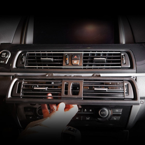 [본오토파츠] BMW F10 5시리즈 실내 에어컨 중앙센터 송풍구 교환 부품 - 블랙