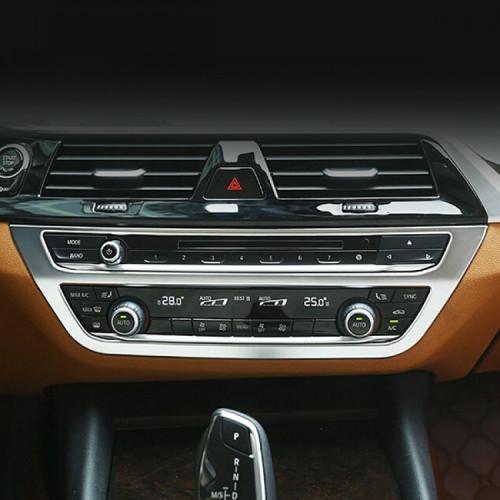 [본오토파츠] BMW G30 5시리즈 센터페시아 에어컨 공조기 실버 몰딩