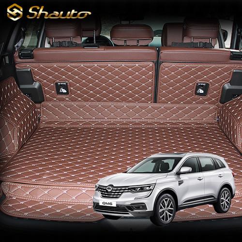 샤오토 QM6 LPe 트렁크매트 풀커버 세트