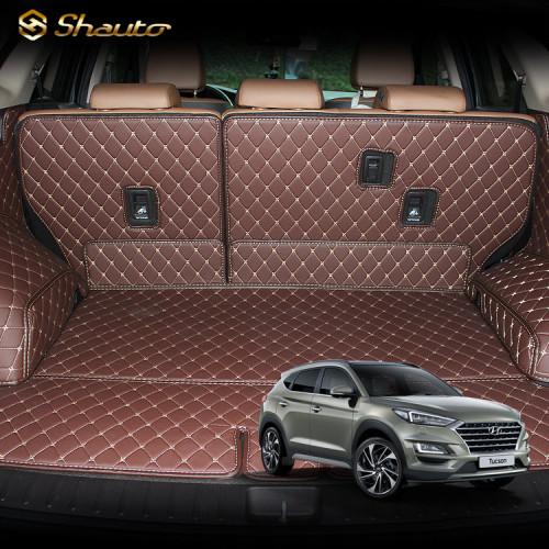 샤오토 올뉴투싼(페이스리프트 호환) 트렁크매트 풀커버 세트