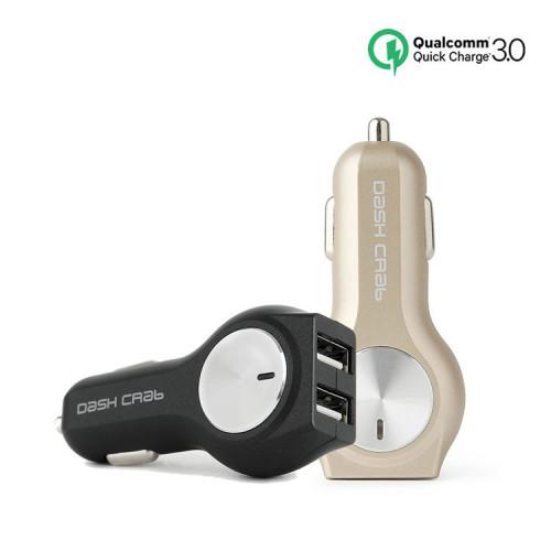 대쉬크랩 퀵차지3.0 듀얼 차량용 충전기