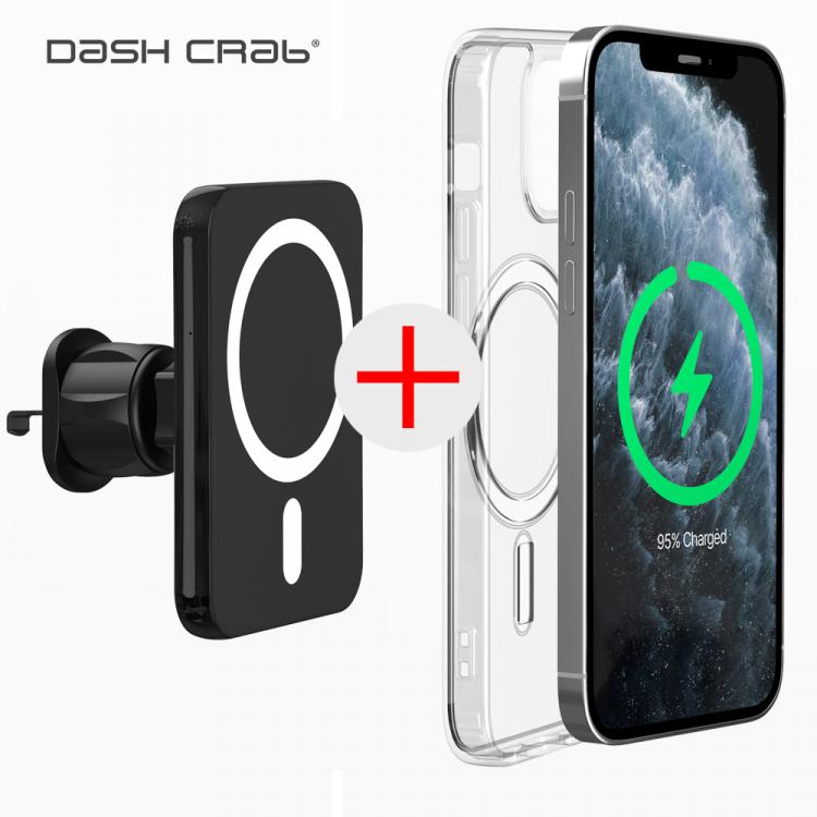 아이폰 12 케이스 증정 대쉬크랩 얼리 맥세이프 차량용 무선충전 거치대