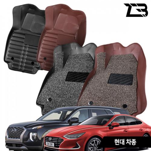 제트비 현대자동차 카매트 5D 6D 가죽 코일매트