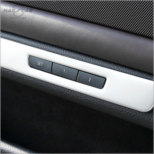 BMW 5시리즈 F10전용 메모리시트 크롬몰딩 악세사리