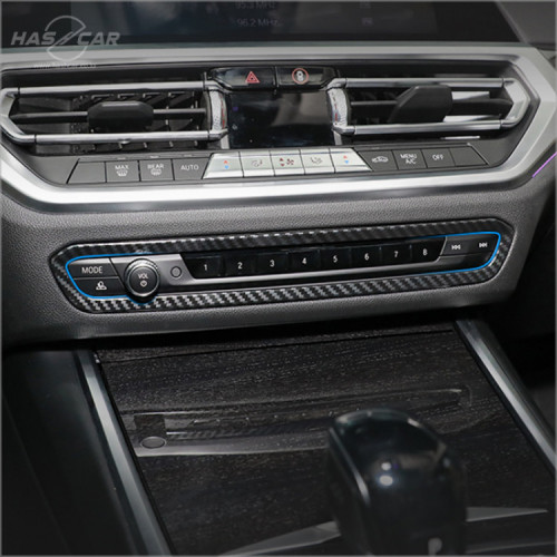 BMW 3시리즈 G20 오디오테두리 카본몰딩 악세사리