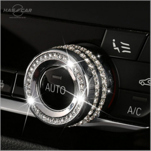 BMW 신형 오디오 볼륨 버튼 큐빅 몰딩