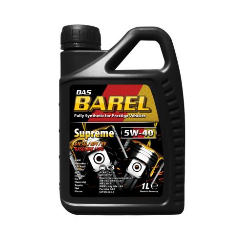 [합성오일] 바렐 SUPREME 5W40
