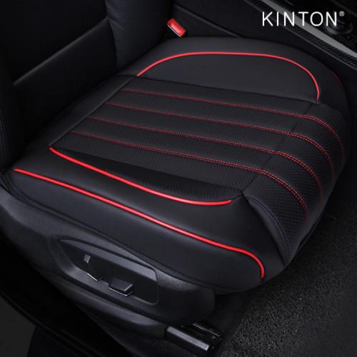 킨톤 차량용 5D타공 풀커버 가죽 쿠션 방석 앞좌석 2P