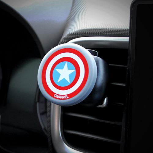 마블 히어로 차량용 스마트폰 자석거치대 캡틴아메리카