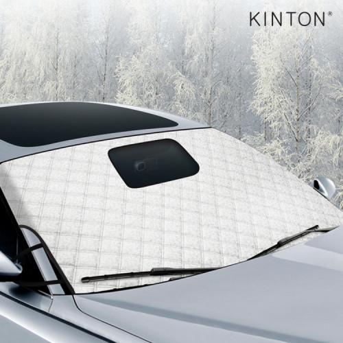 킨톤 자동차 앞유리 성에방지커버 블랙박스 오픈형