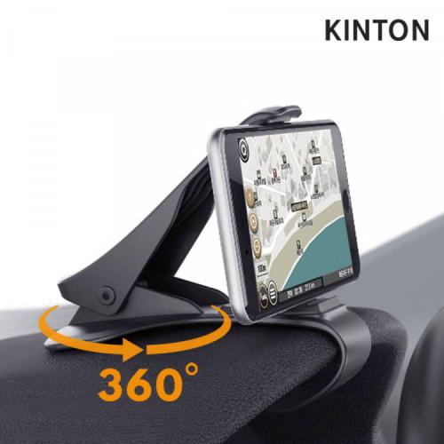 킨톤 차량용 계기판 360도 회전 스마트폰 거치대 휴대폰