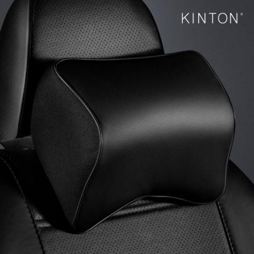 킨톤 더뉴 가죽 차량용 목쿠션 메모리폼 1P