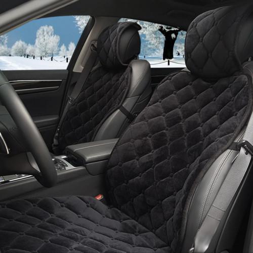킨톤 히트락 퀄팅 겨울자동차시트커버 1P