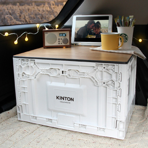 [특가]킨톤 캄무드 폴딩박스 트렁크정리함 캠핑테이블 상판 포함 _COO12