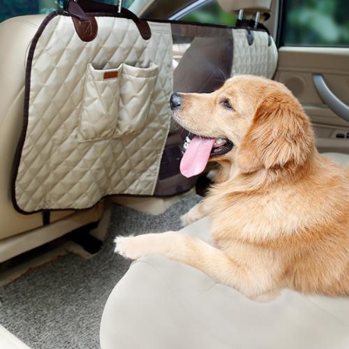 강아지 자동차 수납형 프리미엄 칸막이