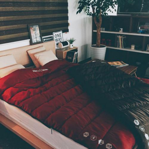 빈슨메시프 히프노스 더블 2인 침낭 동계 가정용 캠핑 침낭