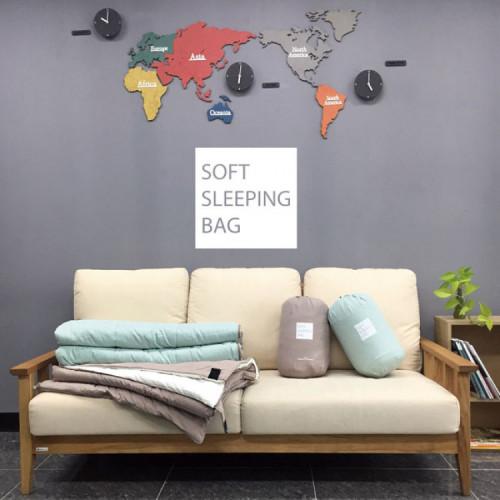 빈슨메시프 소프트 침낭 사계절 가정용 디자인 침낭
