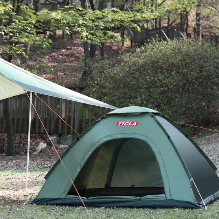 빈슨메시프 티클라 오토 텐트 그늘막 팝업 캠핑 자동 텐트