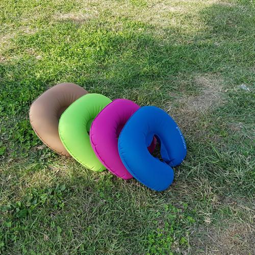 초경량 포터블 에어 목 베개