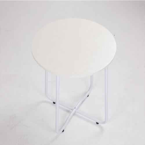 MOON 테이블  우든 원형 사이드 테이블