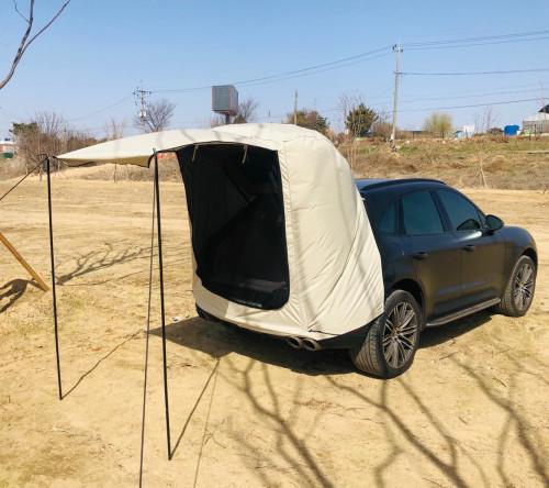 다잡 2분 캠핑 차박텐트 차량 도킹 텐트