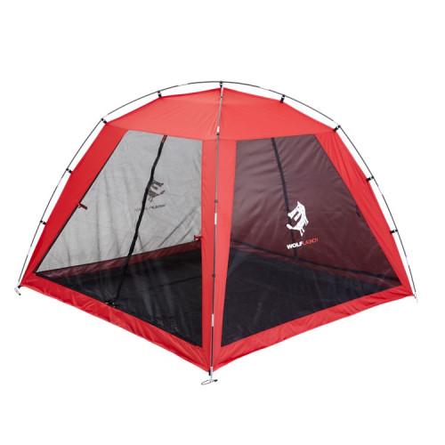 울프라운치 모기장 텐트 (4인용) 야외 캠핑 그늘막