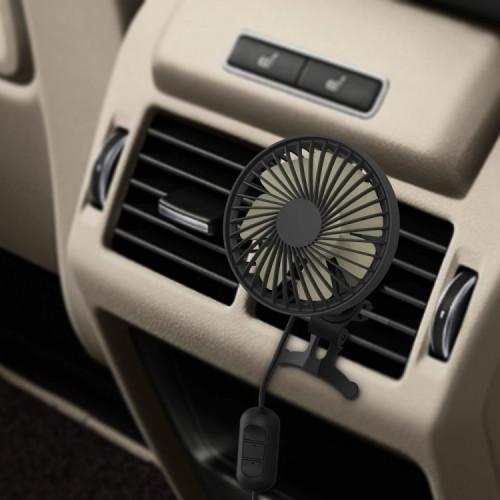 차량용선풍기 LED조명 자동회전 송풍구 거치식