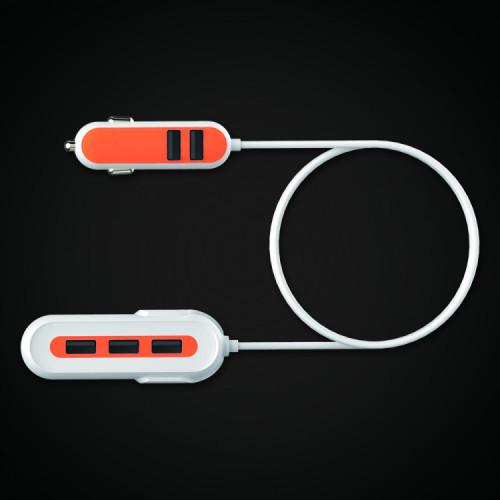 [리큐엠] USB 멀티 차량용 휴대폰 충전기 QCC-V500