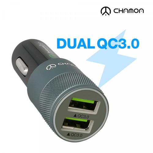 [차모아] 차량용 듀얼 3.0 고속충전기 GS100